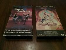 Lot of 2 VHS Movies The jewel of the Nile and Amos & Andrew