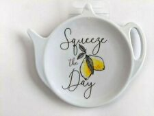 Melamine Teabag Holder Squeeze The Day Tea Bag