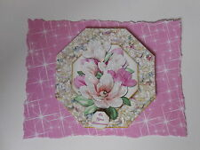 PK 2 MAGNOLIA BOUQUET*YOUR RETIREMENT* EMBELLISHMENT TOPPERS FOR CARDS & CRAFT
