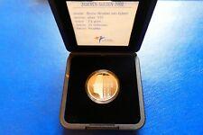 """Niederlande, 1 Gulden, """"Königin Beatrix"""", 2001, Silber, original, im Etui"""