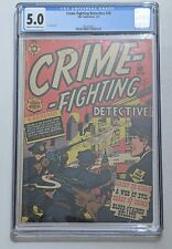 Crime Fighting Detective #18 (Mar 1952, Star) CGC 5.0 L.B. Cole cover