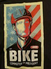 Rare Bike Commuter for President T-shirt Men's Medium Fast shipping