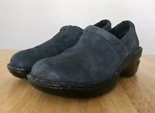 BOC Born Women's Clogs Blue Glitter Sparkle Shoes 7.5