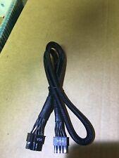 EVGA Supernova 750 850 P2  8 PIN TO 8 pin( 6+2) PCI-E VGA Power  Cable ORIGINAL