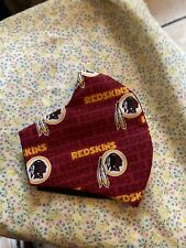 Redskins Nfl Face Mask Cotton Handmade Layers Filter Pocket Dust Protection