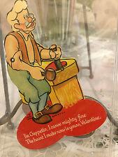 Rare Vintage Mechanical Disney Geppetto Vallentine 1939 Nice condition
