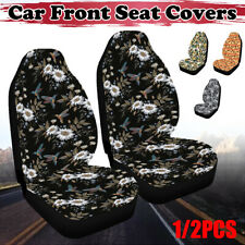 1/2PCS Car Front Seat Covers Washable Dog Pad Mat Cushion For Auto SUV Trucks