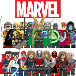Custom Marvel Mini Figures DC Star Wars Minifigures Harry Potter Ninjago Sonic
