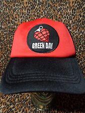 green day hat trucker cap mesh snapback punk rock alt gift