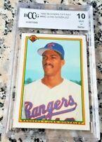 JUAN GONZALEZ 1990 Bowman TIFFANY RARE SP Rookie Card RC BGS BCCG 10 $ 434 HRs $