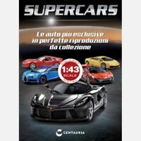 SUPERCARS DIE CAST  1/43+ BOOKLET CENTAURIA-VARIOUS SELECT