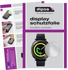 6x Samsung Gear Sport Schutzfolie klar Displayschutzfolie Folie Display Schutz