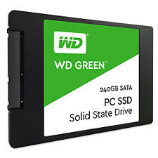 WD Green 240gb Internal SSD Solid State Drive - SATA 6gb/s 2.5 Inch WDS240G2G0A