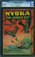 NYOKA JUNGLE GIRL 16 CGC 6.5 Whitman Krigstein Fawcett Publications 1948
