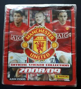 Panini Manchester United Sealed Box Of Stickers 2008/09