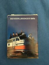 Vintage BENSON & HEDGES 100's Playing Cards Cigarettes Tobacco Advertisement USA