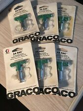 Graco Air Assisted Airless Tips 6 Ea Reverse -A-Clean -New for Paint Spray Gun