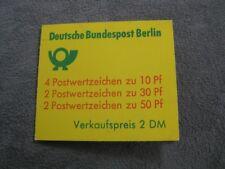 BERLIN GERMANY Mi. #MH 10a mint MNH stamp booklet! CV $13.25