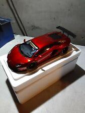 Autoart 1/18 LB Works Lamborghini Aventador Metallic Red