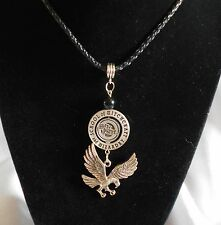 Harry Potter (Ravenclaw House )  Pewter 360 Swivel  Necklace