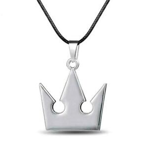 KINGDOM HEARTS NECKLACE Sora's Crown Metal Pendant Cord Role Play Video Game