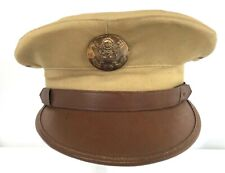 Vintage Us Army Enlisted Khaki Dress Hat