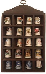 Vintage Porcelain Thimbles X 20