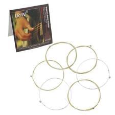 Jeu de 6pcs Corde de Guitare Acoustique en Acier Inoxydable Chaîne A101