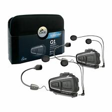 Cardo Scala Rider Q1 Teamset Motorcycle Bluetooth Intercom System Bike BTSRQ1T