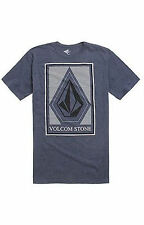 NEW VOLCOM MEN'S GUYS GRAPHIC REGULAR FIT HEATHER T SHIRT TEE BLOUSE CREW TOP M