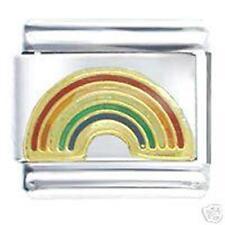 Gay Pride Rainbow Arch Italian Charm