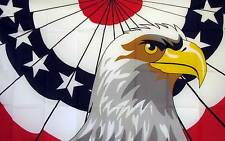 Patriot Eagle Flag Banner 3 x 5 Foot Novelty Polyester
