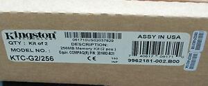 Kingston KTC-G2/256 (128 MB, SDRAM, 133 MHz, DIMM 168-pin) RAM Module