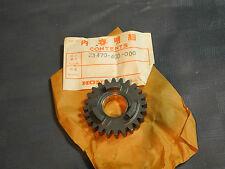 Getrieberad TRASMISSIONE GEAR HONDA cr125 CR 125 M anno 76 New Part Nuovo