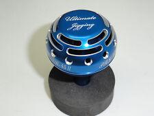 UJ PRK 45 type II knob FITS Daiwa Saltiga Saltist Seabort Tanacom reel Blue/SV
