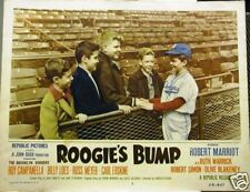 Original ROOGIE'S BUMP BROOKLYN DODGER 1954 Lobby Card