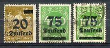 Reich 281, 287a en 288 gebruikt; infla geprüft