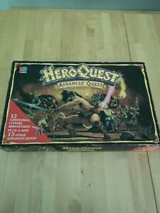 Vintage Hero Quest Advanced Quest Edition Board Game Games Workshop MB Games