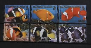 SOLOMON ISLANDS # 921-926.  REEF FISH.  MNH
