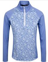 NWT $148 RLX Ralph Lauren Womens Golf Tennis Pullover Sweater Top Blue S M L XL