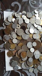 Lotto Gigante Di Monete Italiane E Straniere 1.5 kg