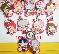 Anime Idolish7 Plush Doll Toy Keychain Mochi Mochi Mascot Animate 12HITS ID7 New
