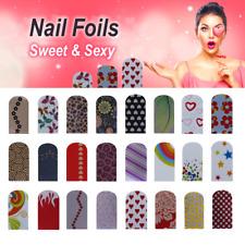 Nagelfolien Nailart Nail Foils Sweet & Sexy Style selbstklebend glänzend 16 St.