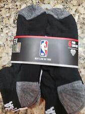 Icebrands NBA Hommes Noir Blanc Gris Chaussettes Basses 6 Paires Chaussures