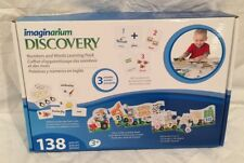 Imaginarium Discovery 138 Piece Numbers & Words Activities Learning Pack NEW