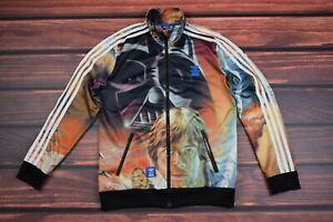 Mens Rare Adidas  Star Wars Jacket track   size  S
