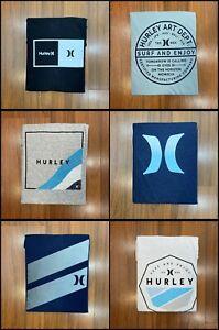 Hurley Graphic Tee Classic T-shirt Logo Soft Cotton Men's Size M, L, XL, XXL New
