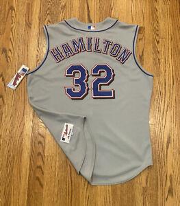 Texas Rangers Josh Hamilton Vintage Majestic Authentic MLB Baseball Jersey Vest