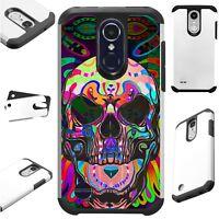 FusionGuard For Apple / LG Phone Case Hybrid Cover TATTOO SKULL