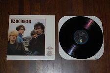 "U2-October 12"" Album-90092 Gloria, Fire, I Threw A Brick Through A Window"